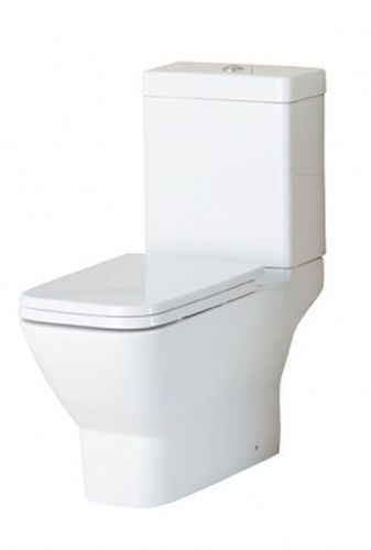 Eastbrook Wingrave Close Coupled Toilet & Soft Close Seat